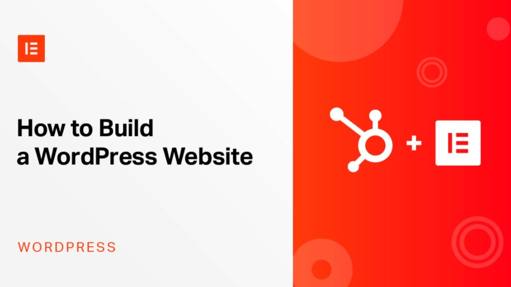 Website WordPress Elementor Astra HubSpot CRM