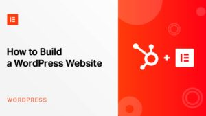 Website WordPress Elementor Astra HubSpot CRM